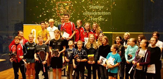 HEAD Danish Junior Open 2017 finished with a BAAAAANG covering all the winners in gold