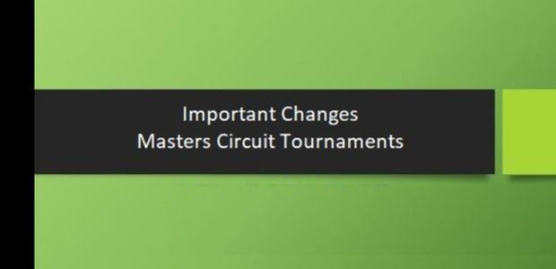 Important Changes to Masters Circuit Tournaments